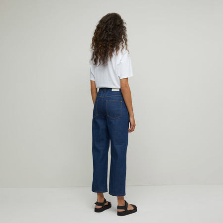 Organic Denim Hose von 'Closed' in Dark Blue