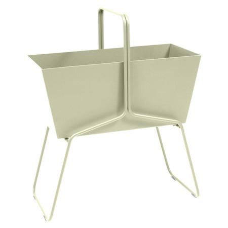 Fermob Blumenkasten 'Basket'  Lindgrün 65,  Hoch