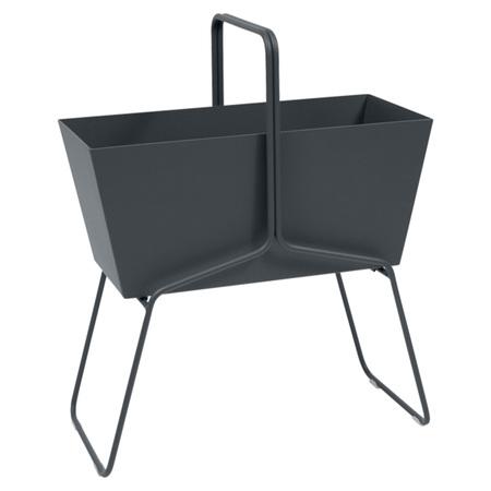 Fermob Blumenkasten 'Basket'  Anthrazit 47,  Hoch