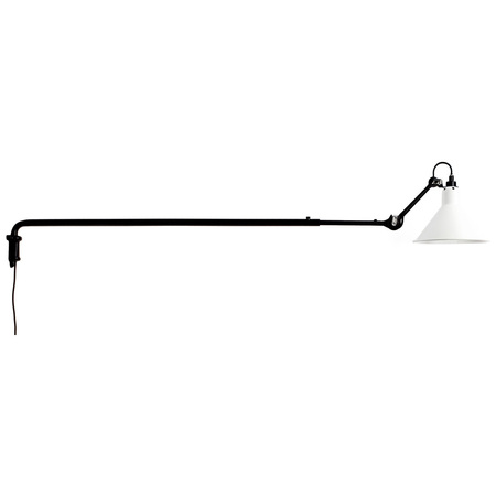 DCW Éditions Wandleuchte 'Lampe Gras 213'  komplett weiss