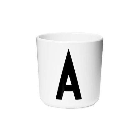 Design Letters Persönlicher Porzellan-Becher von A-Z 'Design Letters'  A
