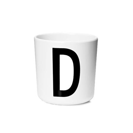 Design Letters Persönlicher Porzellan-Becher von A-Z 'Design Letters'  D