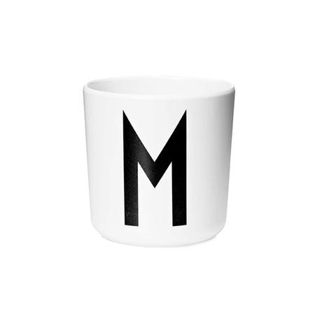 Design Letters Persönlicher Porzellan-Becher von A-Z 'Design Letters'  M