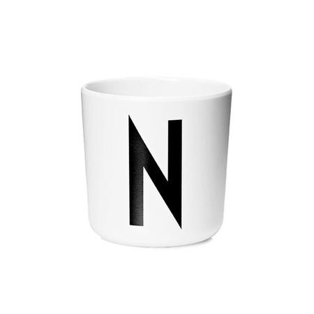 Design Letters Persönlicher Porzellan-Becher von A-Z 'Design Letters'  N