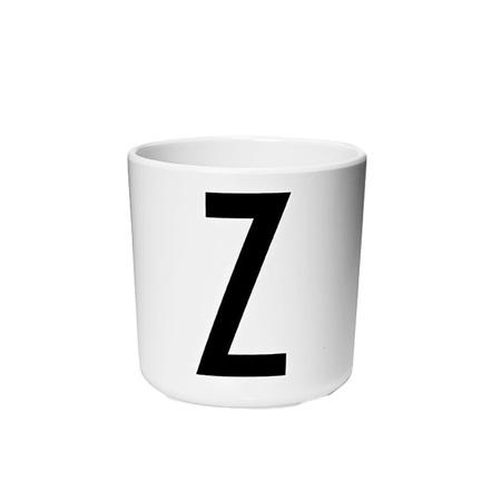 Design Letters Persönlicher Porzellan-Becher von A-Z 'Design Letters'  Z