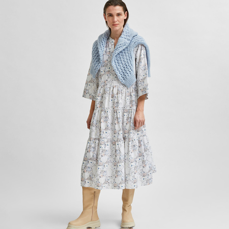 Selected Femme Midi Print Kleid von 'Selected Femme'