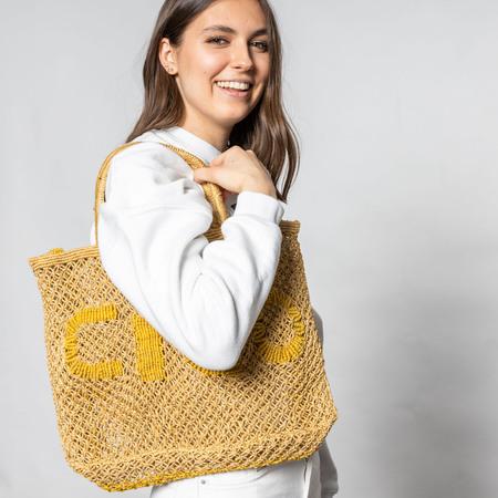 Kleinerer natürlicher Shopper 'Ciao'