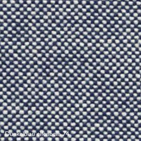 Vitra Farbkachel Dunkelblau elfenbein 74
