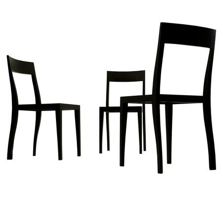 Flankenschnitt-Stuhl F/01 6
