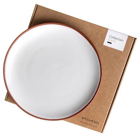 Earth Collection Vaidava Ton Geschirr Artificial Teller
