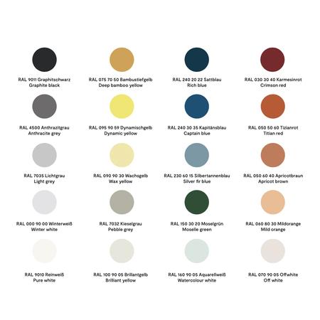 Farbpalette Farben Kleiderschrank Plane