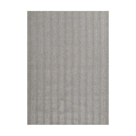 Toulemonde Bochart  Aussenteppich 'Torsade' Grau, 200 x 300 cm