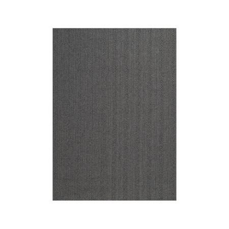 Toulemonde Bochart  Aussenteppich 'Torsade' Anthrazit, 170 x 240 cm