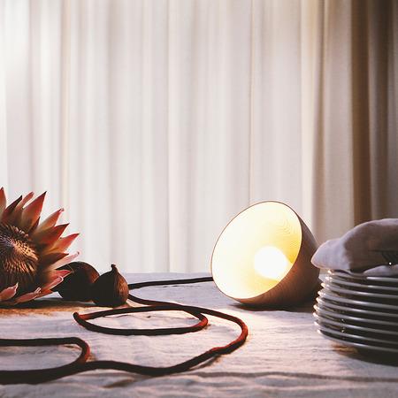 Drehbach Lampe mit Schalter von 'Arno Wolf' 1