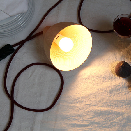 drehbach lampe mit schalter von 39 arno wolf 39. Black Bedroom Furniture Sets. Home Design Ideas
