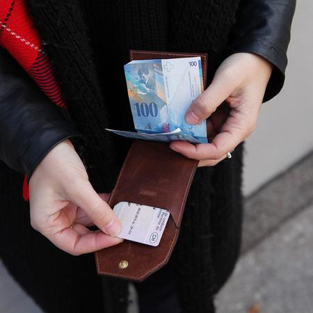 Wallet von Park braun 7