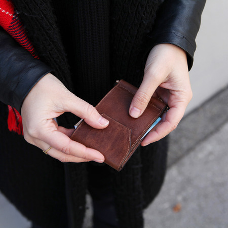 Wallet von Park braun 8
