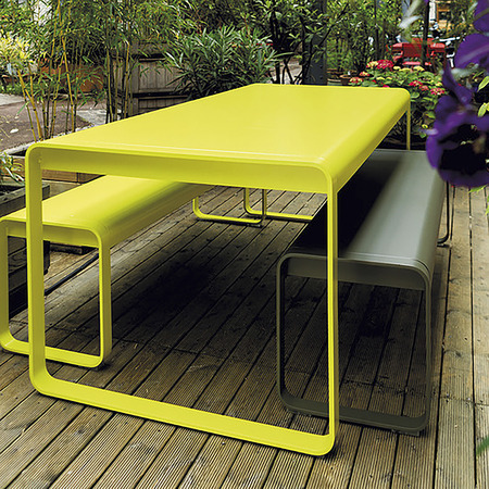 Bellevie fermob table et banc album 2013 product media image medium