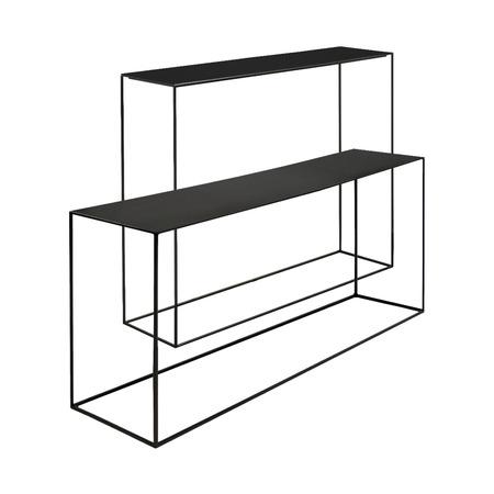 filigrane konsole aus stahl. Black Bedroom Furniture Sets. Home Design Ideas