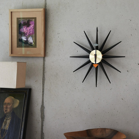 Vitra sunburst messing 1