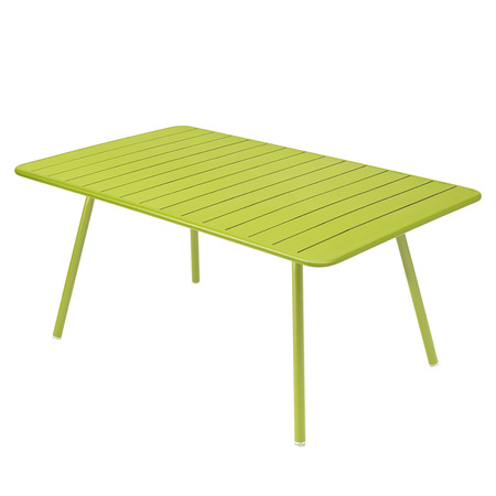 Table luxembourg 165x100cm vert verveine