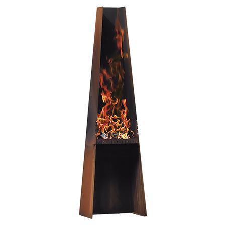 feuerskulptur 39 gizeh 39. Black Bedroom Furniture Sets. Home Design Ideas