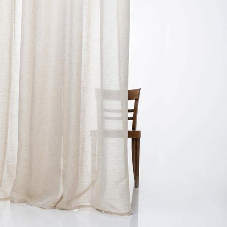 vorh nge aus leinen. Black Bedroom Furniture Sets. Home Design Ideas