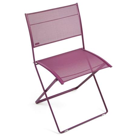 Plein air chaise 830128 aubergine