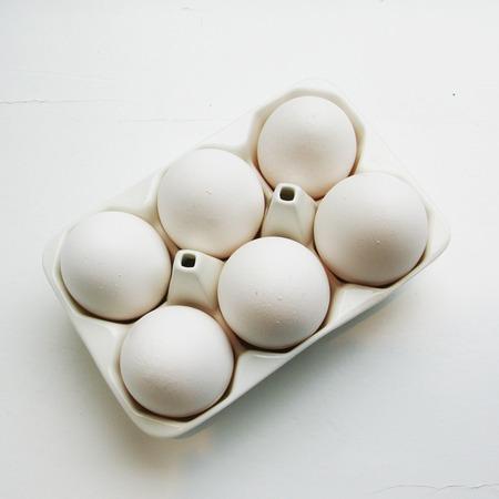 Seletti white egg 2