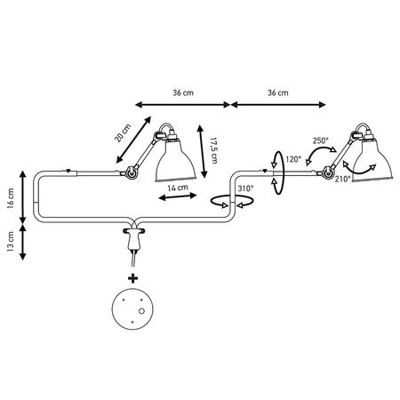 Lampegras modele 303 schema technique