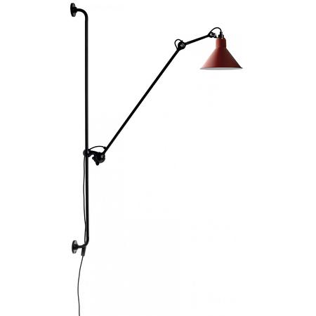 08 lampe gras 214 wandleuchte