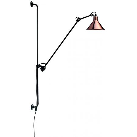 07 lampe gras 214 wandleuchte