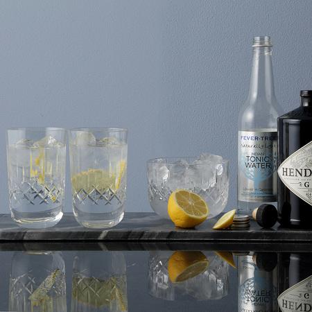 2er set kristall gl ser f r den gin. Black Bedroom Furniture Sets. Home Design Ideas