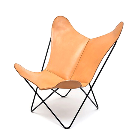 Butterfl chair kernleder manufaktur plus 1