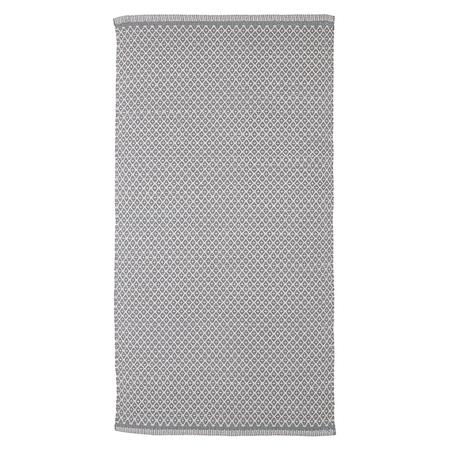 39 rhombe 39 teppich grau. Black Bedroom Furniture Sets. Home Design Ideas