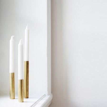 Kerzenständer Lichtenau Messing Arno Wolf