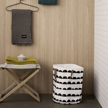 basket 39 half moon 39 f r spielzeug. Black Bedroom Furniture Sets. Home Design Ideas