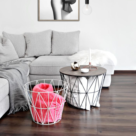 Interesting Wire Greytop With Ferm Living Wire Basket
