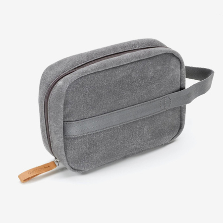 Toiletry Kit qwstion washed grey