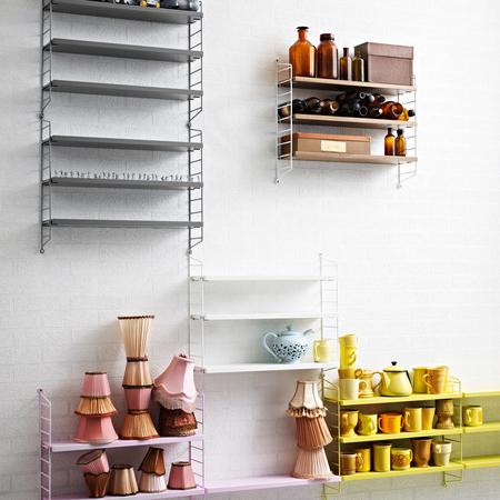wandregal 39 string pocket 39 farbig. Black Bedroom Furniture Sets. Home Design Ideas