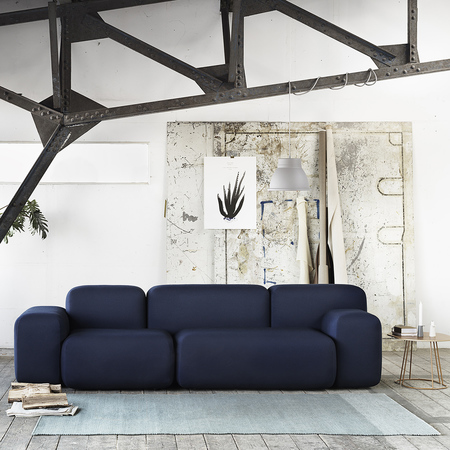 Soft blocks sofa studio lifestyle skabelonlofet med