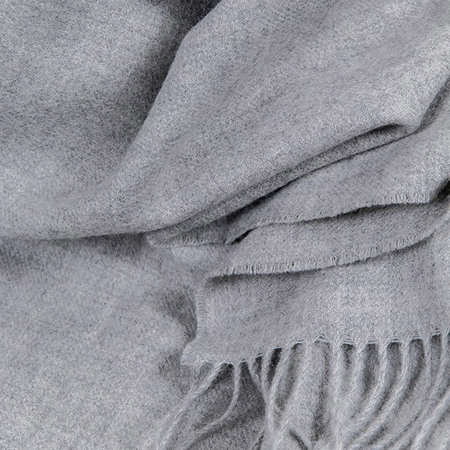 Zigzag blanket hellgrau