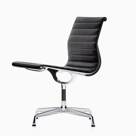 Vitra aluminium chair ea106 leder web