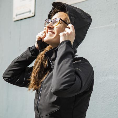 Nuria softshell jacke von 39 rukka 39 schwarz for Stuhl finnisches design