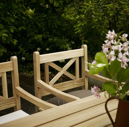 Gartenset Skagen aus Teak