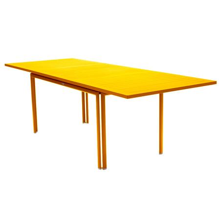 Costa table allonge jaune miel