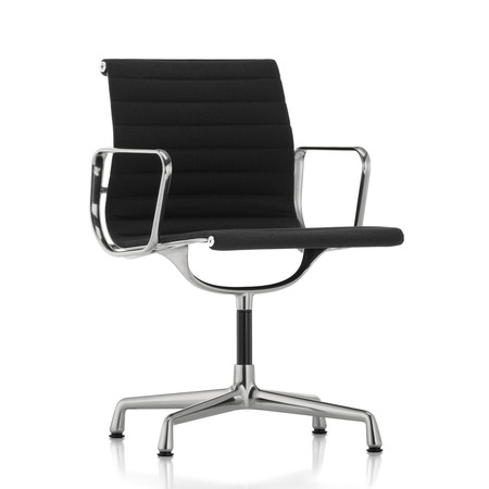 Vitra aluminium chair ea 104 nero