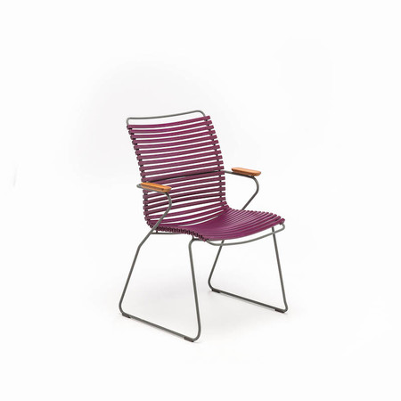 stuhl 39 click 39 mit hoher lehne. Black Bedroom Furniture Sets. Home Design Ideas