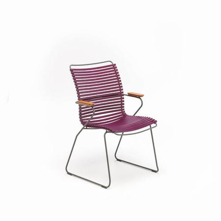Stuhl 39 click 39 mit hoher lehne for Stuhl mit hoher lehne
