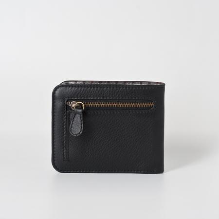 Männerportemonnaie mit Reissverschlussfach in Schwarz 01